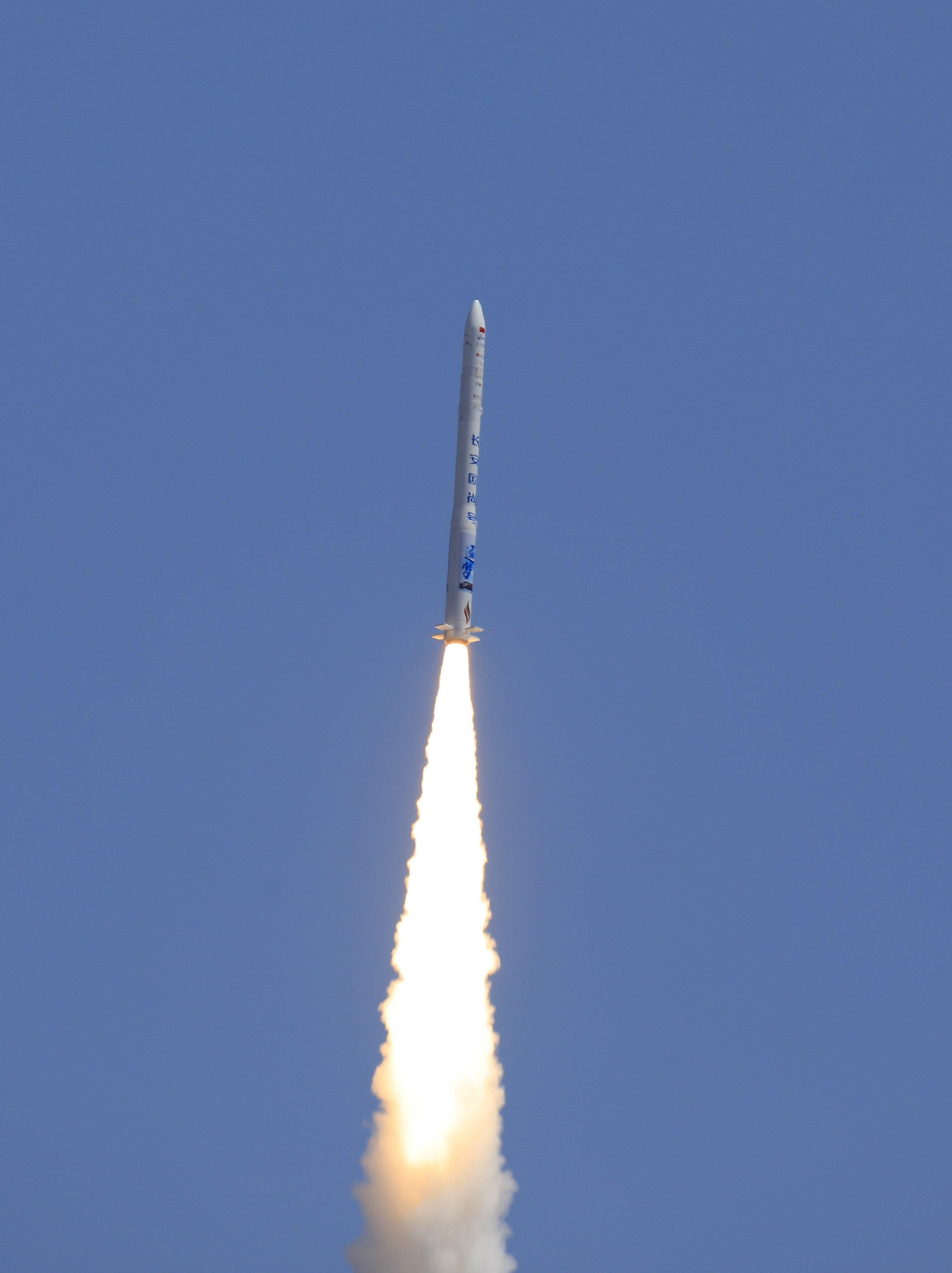 China lanza con éxito cohete portador comercial privado