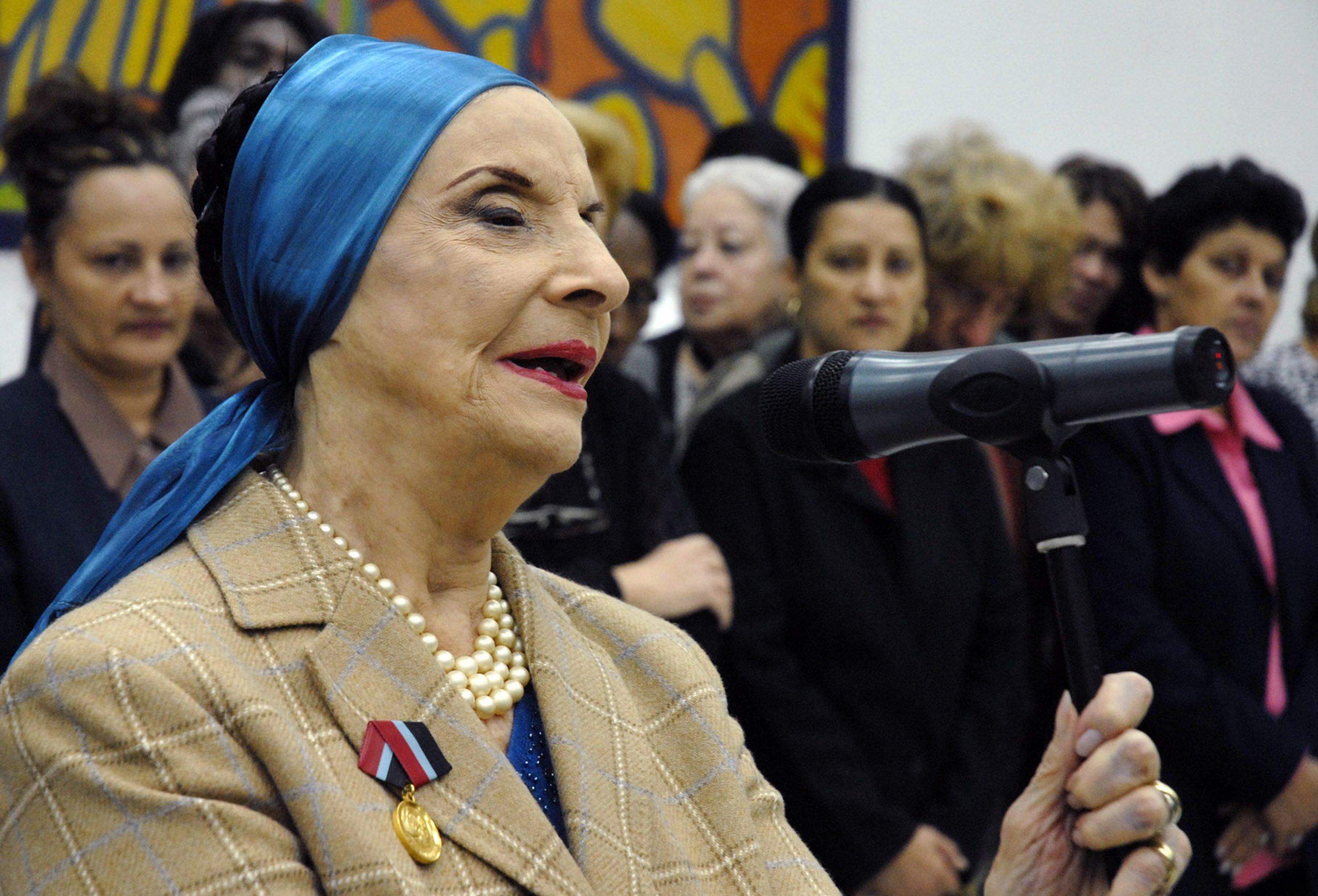 Fallece afamada bailarina cubana Alicia Alonso