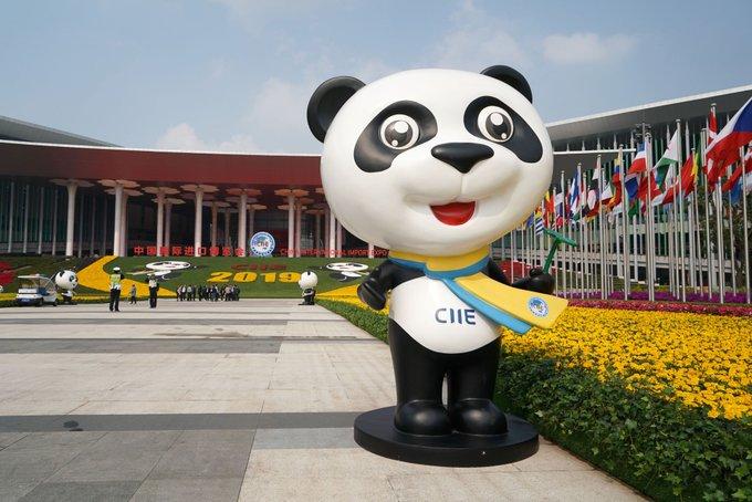 Exposición de importaciones de China abre registro de medios