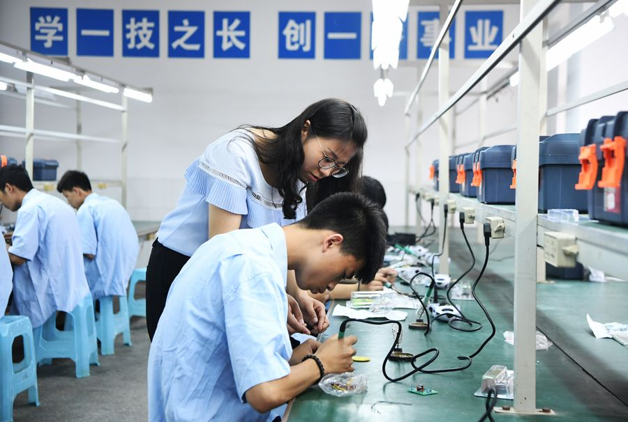 Educación vocacional ayuda a combatir pobreza en China, según informe