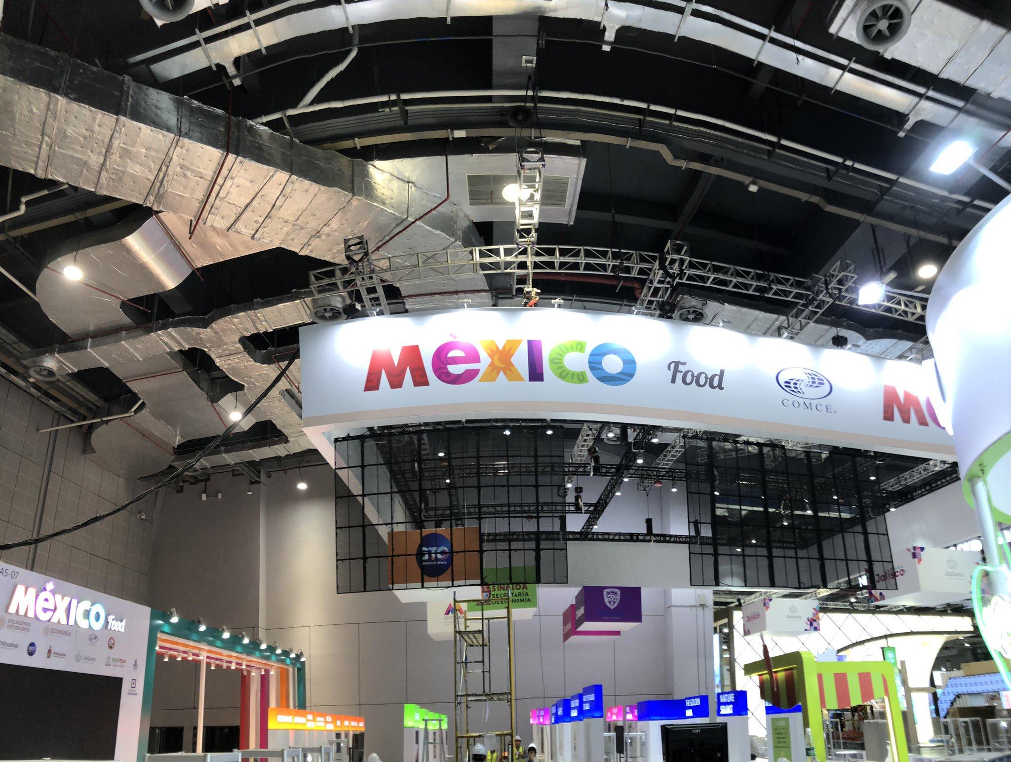 México prepara participación en la tercera Expo Internacional de Importaciones de China