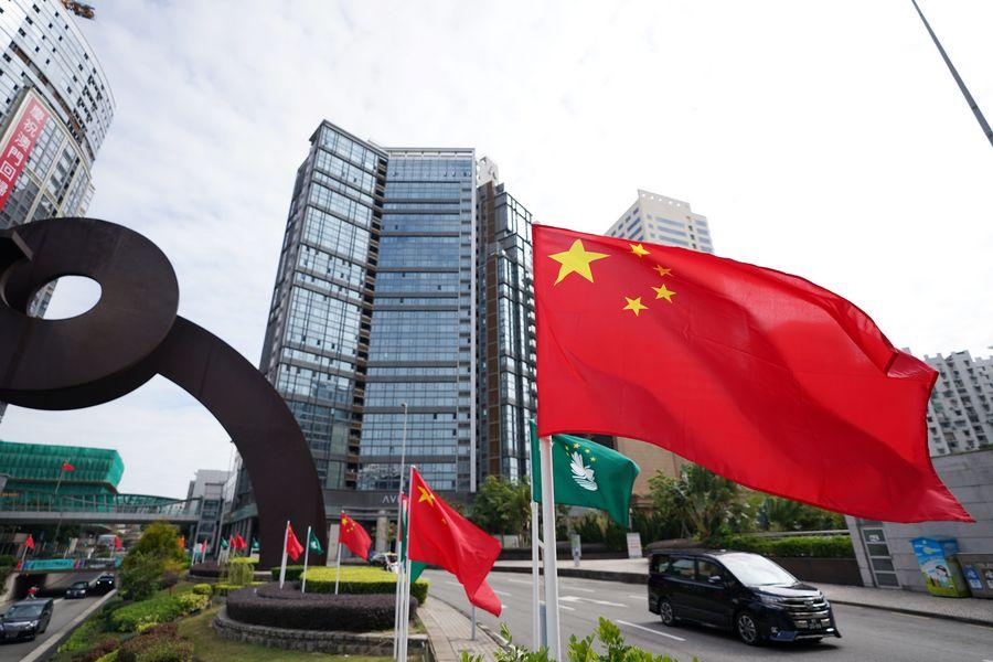Xi Jinping visita Complejo de Plataforma de Servicios Comerciales y de Negocios de los Países de habla portuguesa en Macao