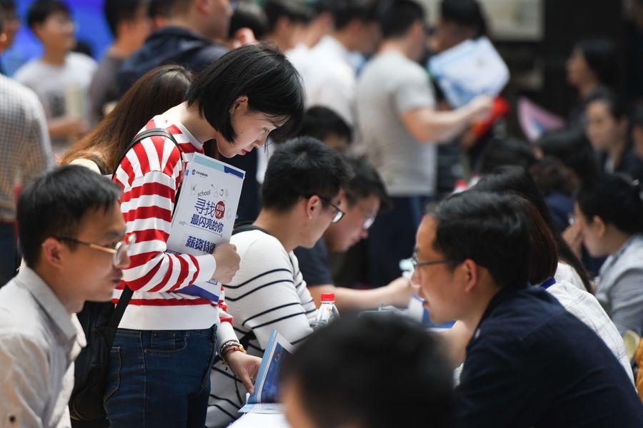 Dentro de lo proyectado tasa de desempleo urbano registrada en 2019 de China