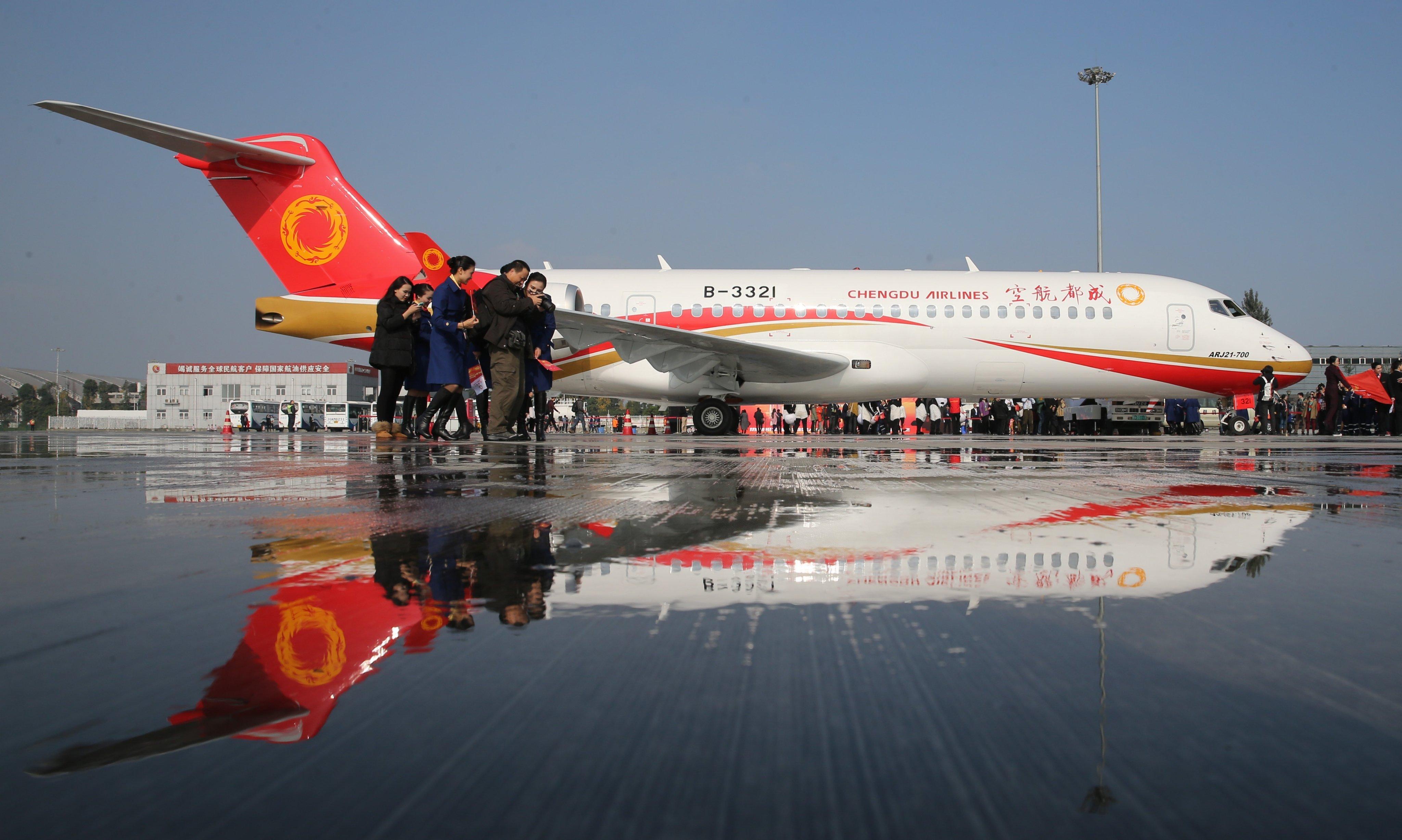 Sector de aviación civil de China registra crecimiento robusto en 2019