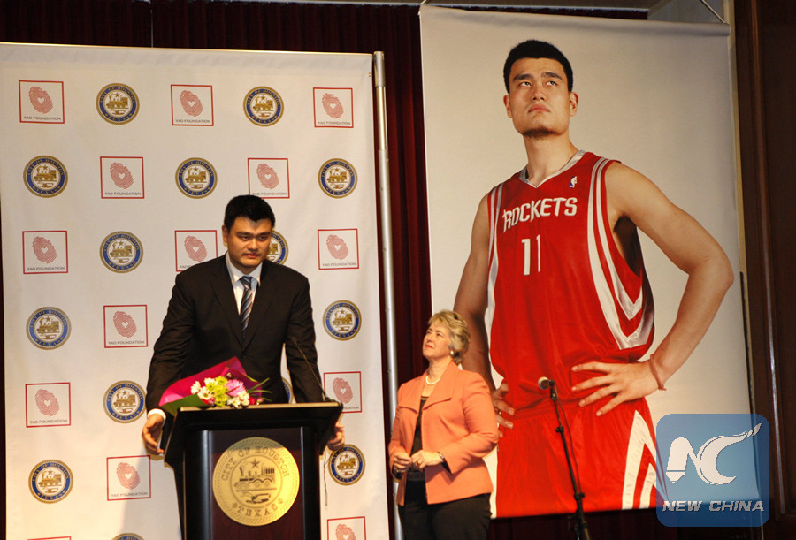 Yao Ming participa en programa en línea para promover baloncesto entre jóvenes