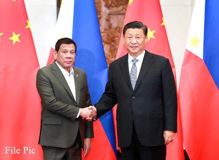 Presidente chino dice estar dispuesto a elevar lazos China-Filipinas hasta nuevos niveles