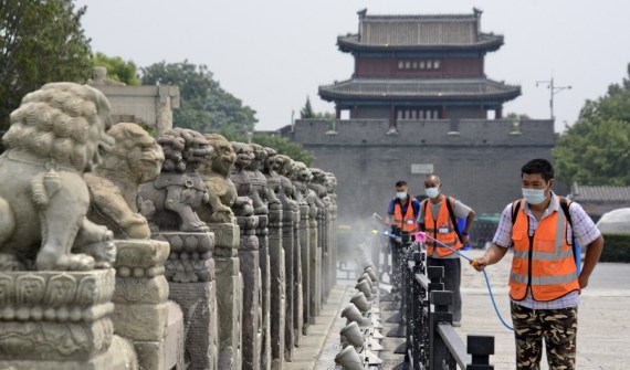 Beijing reporta cifras de un solo dígito de casos de COVID-19 durante 7 días consecutivos