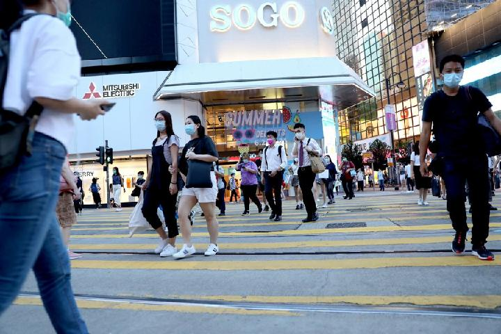 Hong Kong reporta 21 nuevos casos de COVID-19