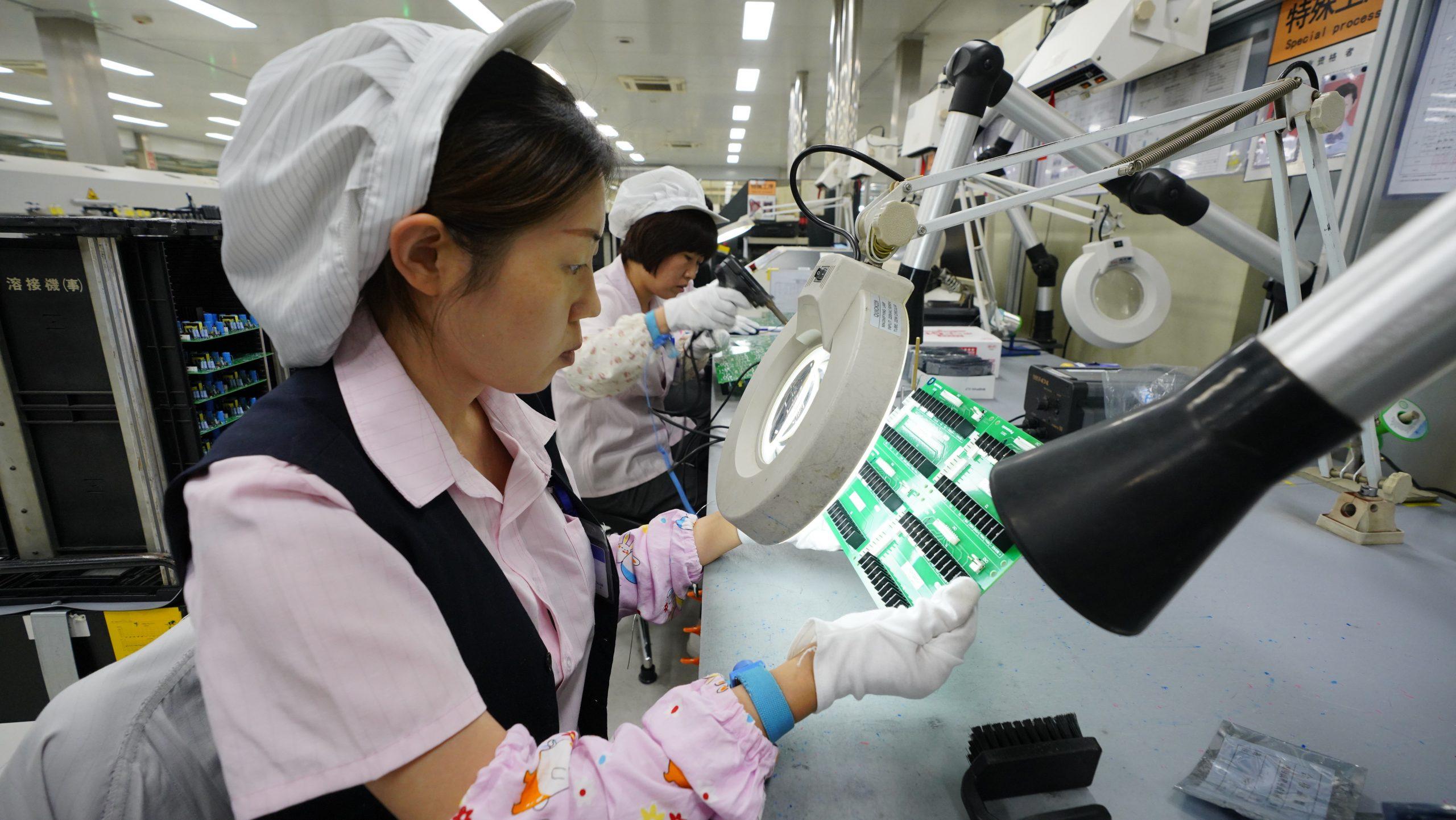Producción industrial de China crece 15,9 % en primer semestre