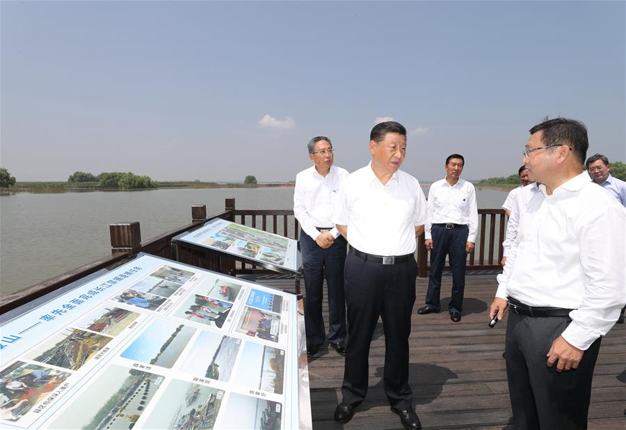 Xi enfatiza importancia de reforma y apertura y desarrollo de alta calidad durante inspección en Anhui