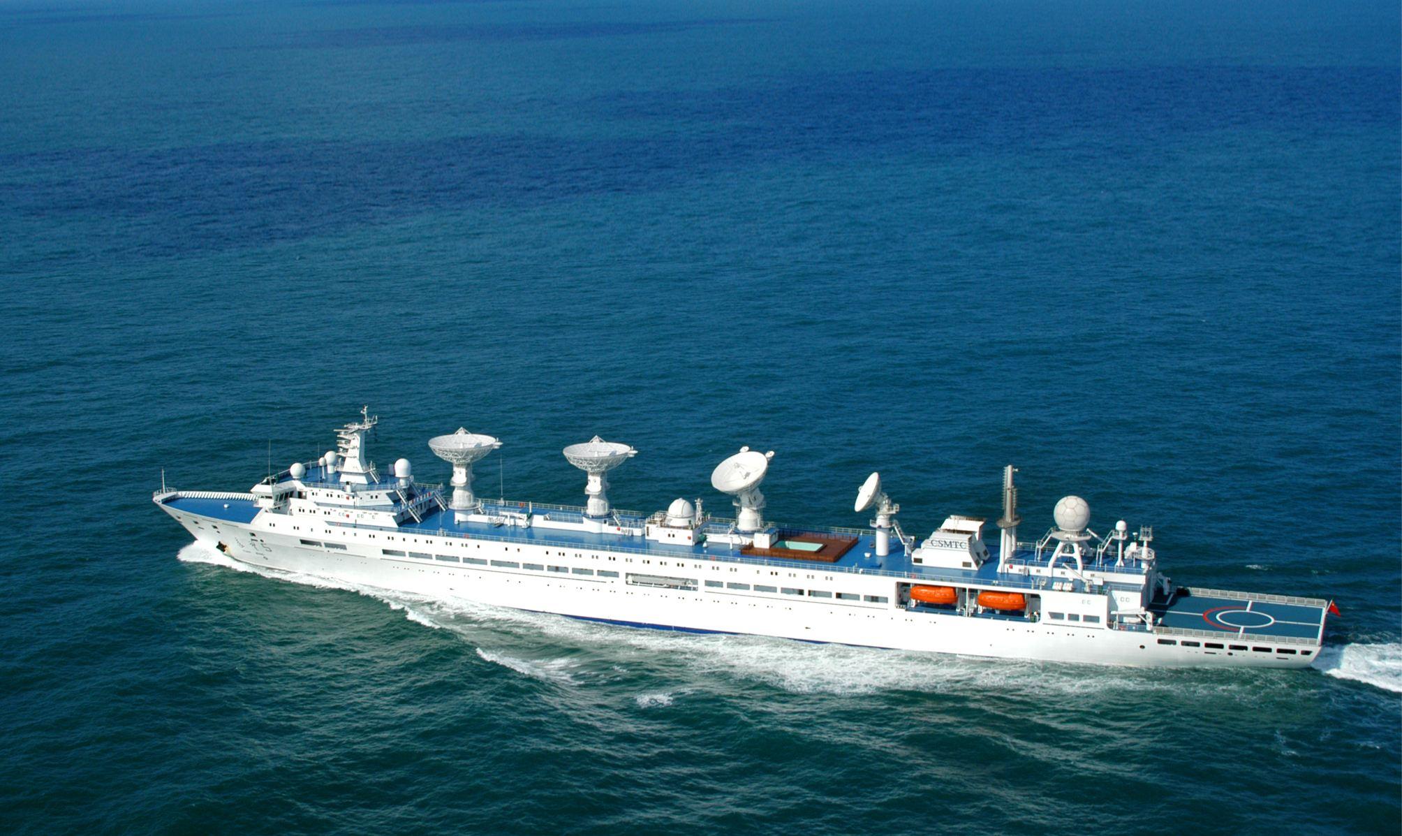 Buque chino de seguimiento espacial regresa a puerto tras cumplir misiones de monitoreo