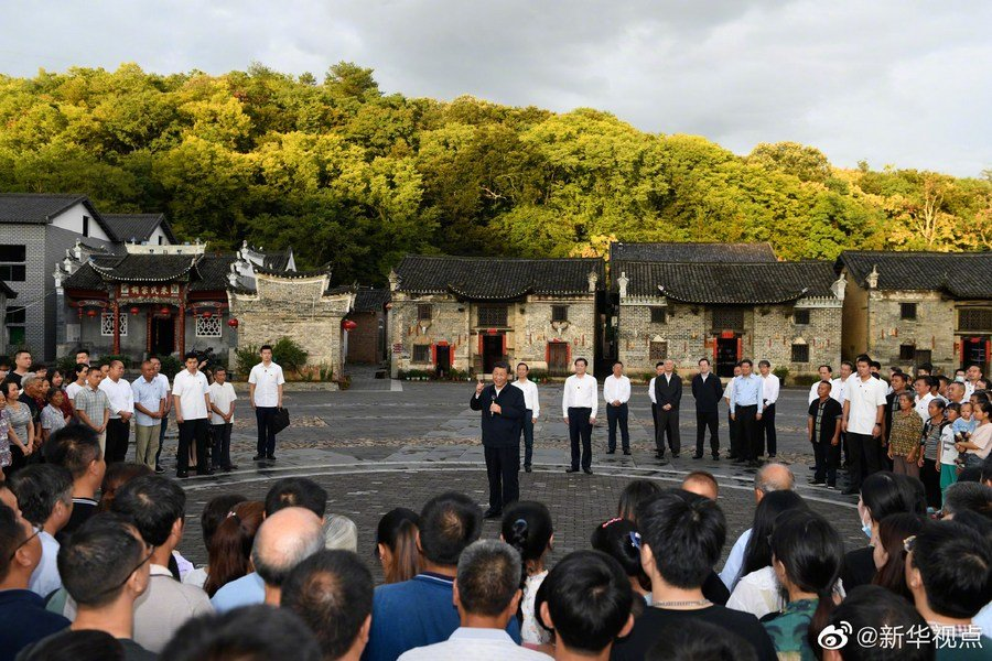 Xi inspecciona provincia central china de Hunan