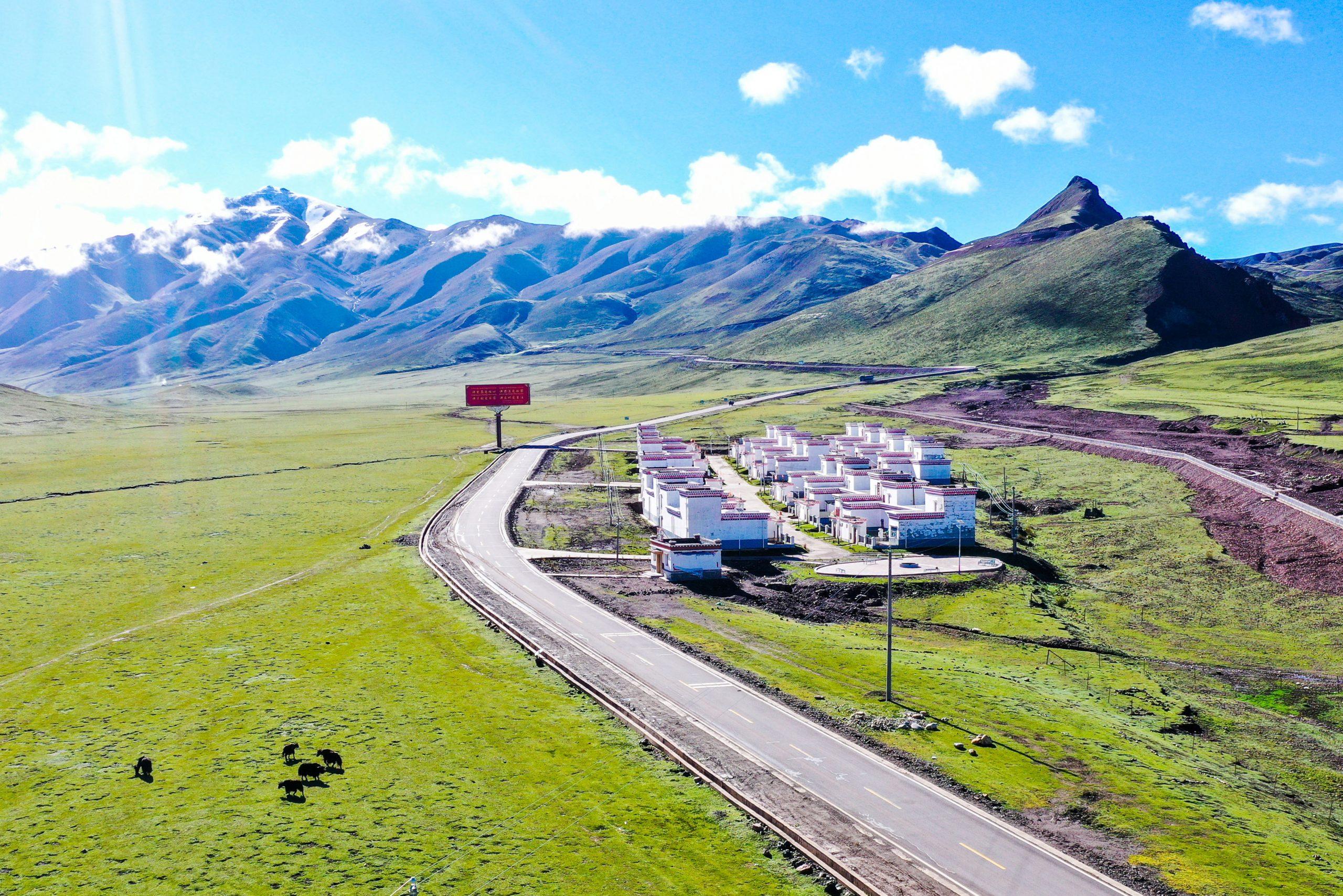 Tíbet reporta aumento en carreteras y conectividad