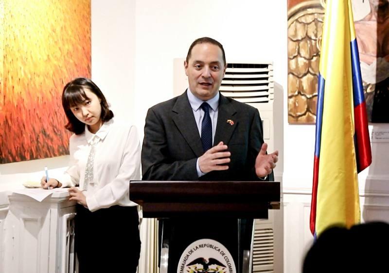 Colombia establece centro de exhibición de productos en municipalidad suroccidental china de Chongqing