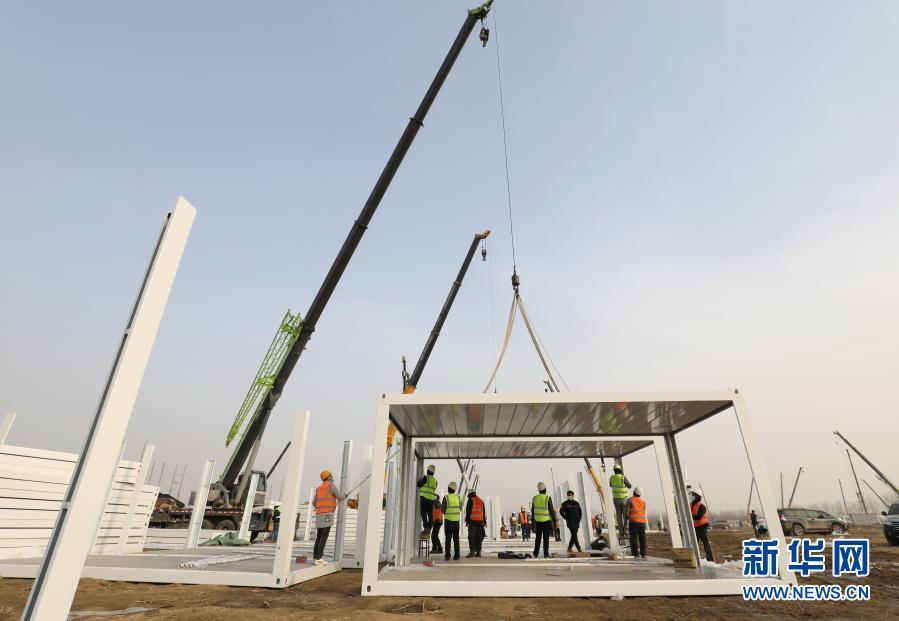 Ciudad china construye en cinco días centro de aislamiento con 1.500 habitaciones para pacientes de COVID-19