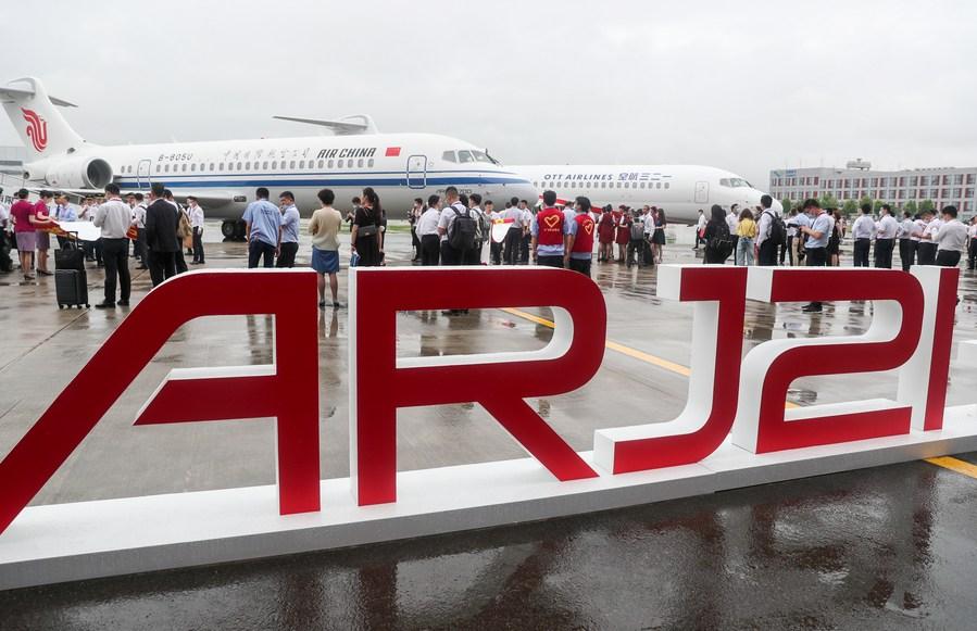 Air China recibe su cuarto avión regional ARJ21