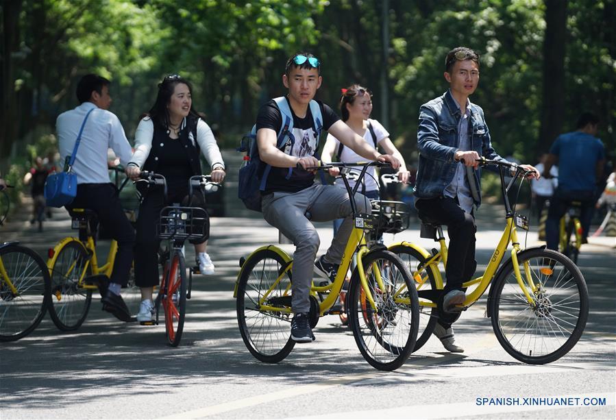Limitan a 800.000 número de bicicletas compartidas en distritos urbanos de Beijing