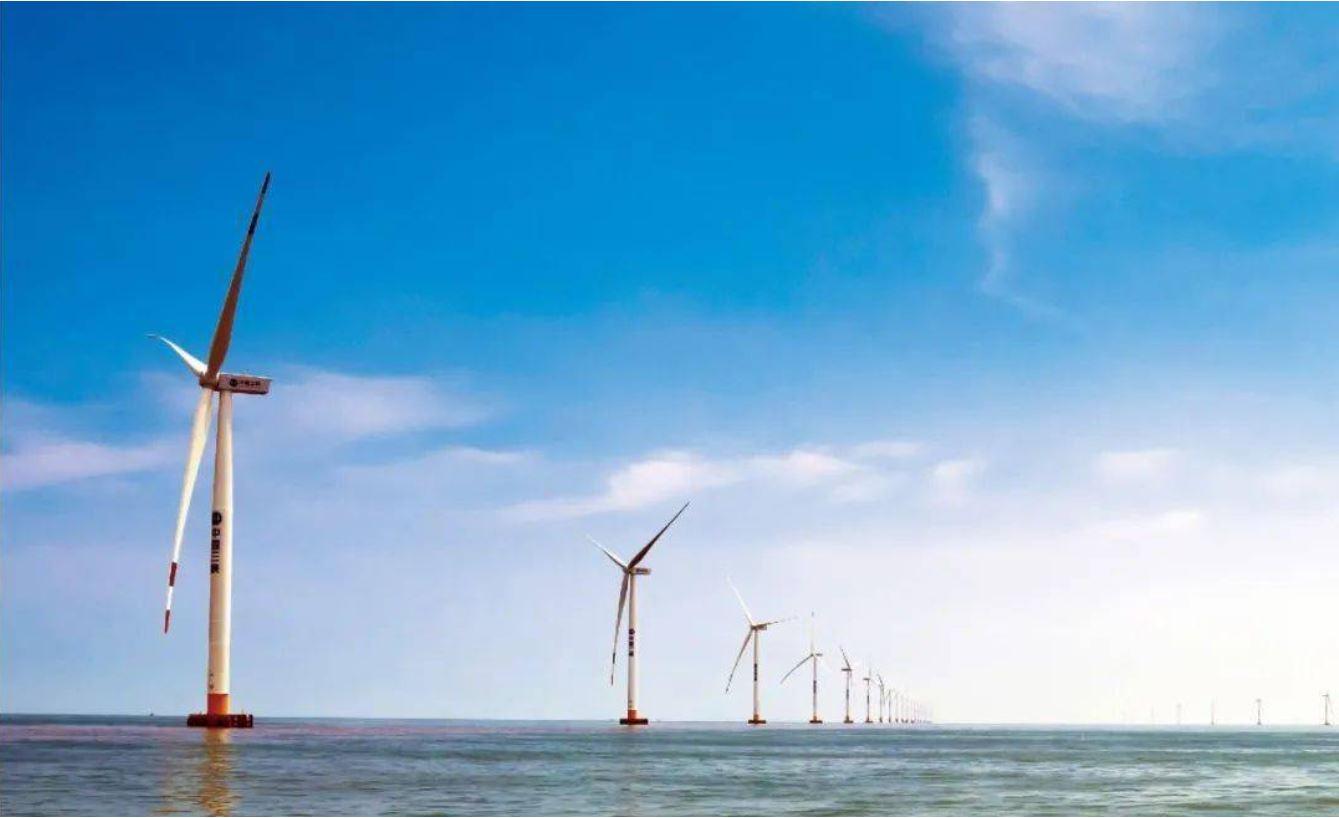 Inicia operaciones parque eólico marino de 400.000 kW en el delta del río Yangtse en China