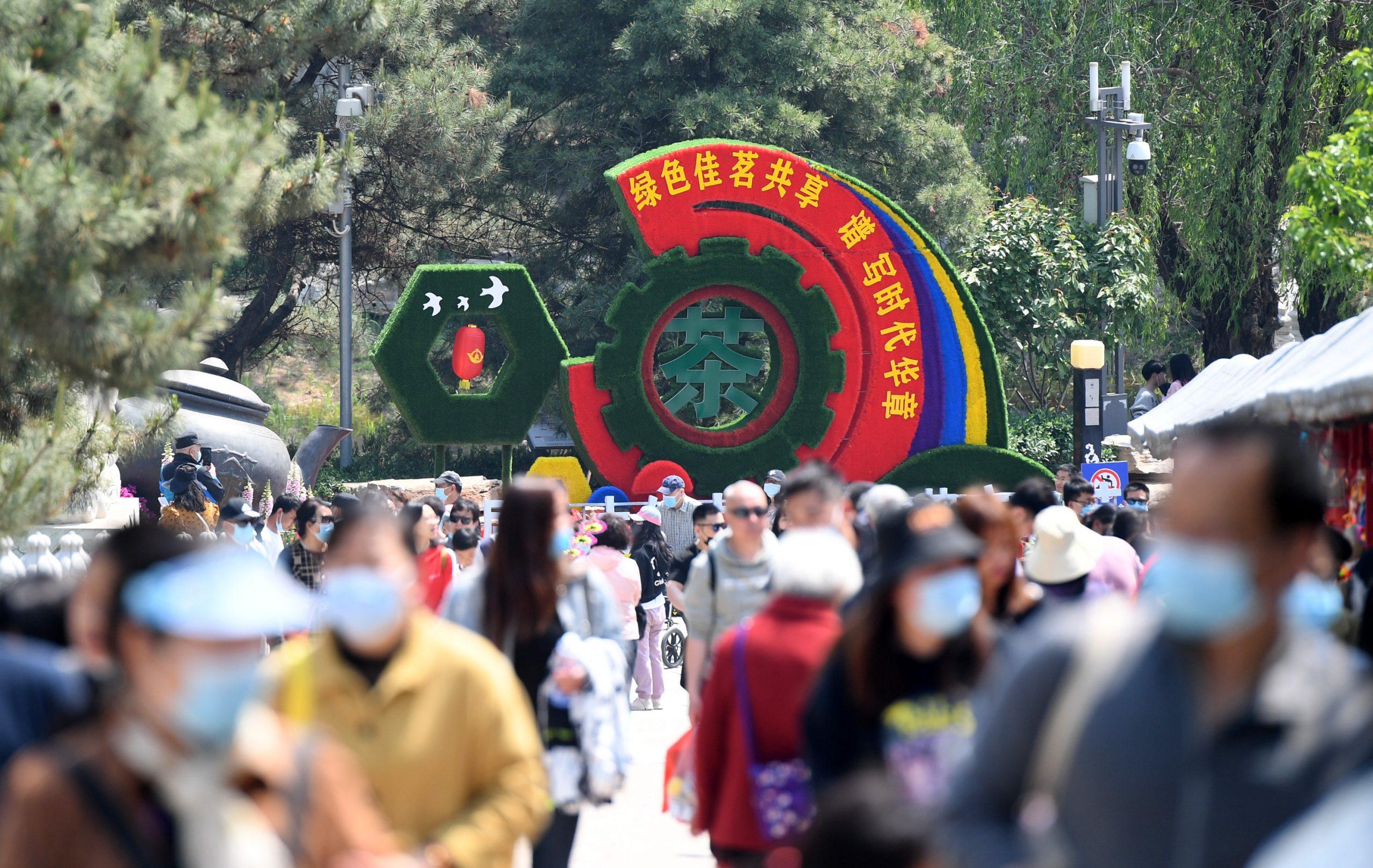 Beijing registra fuerte repunte de turismo en vacaciones de Primero de Mayo