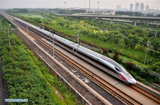 Ferrocarril de alta velocidad Beijing-Shanghai llega a 1.350 millones de viajes de pasajeros en diez años