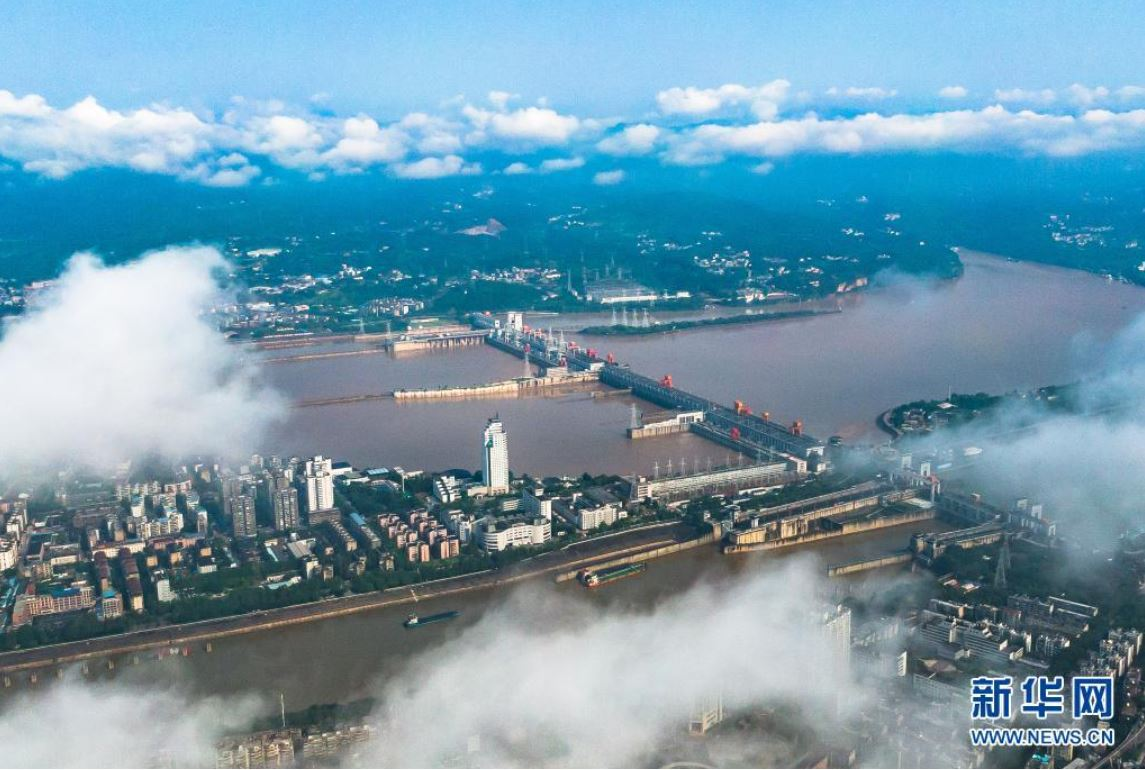 Principal central hidroeléctrica en río Yangtse genera 600.000 millones de kWh de energía limpia