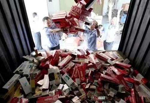 China decomisa cigarros contrabandeados con valor de 26 millones de dólares