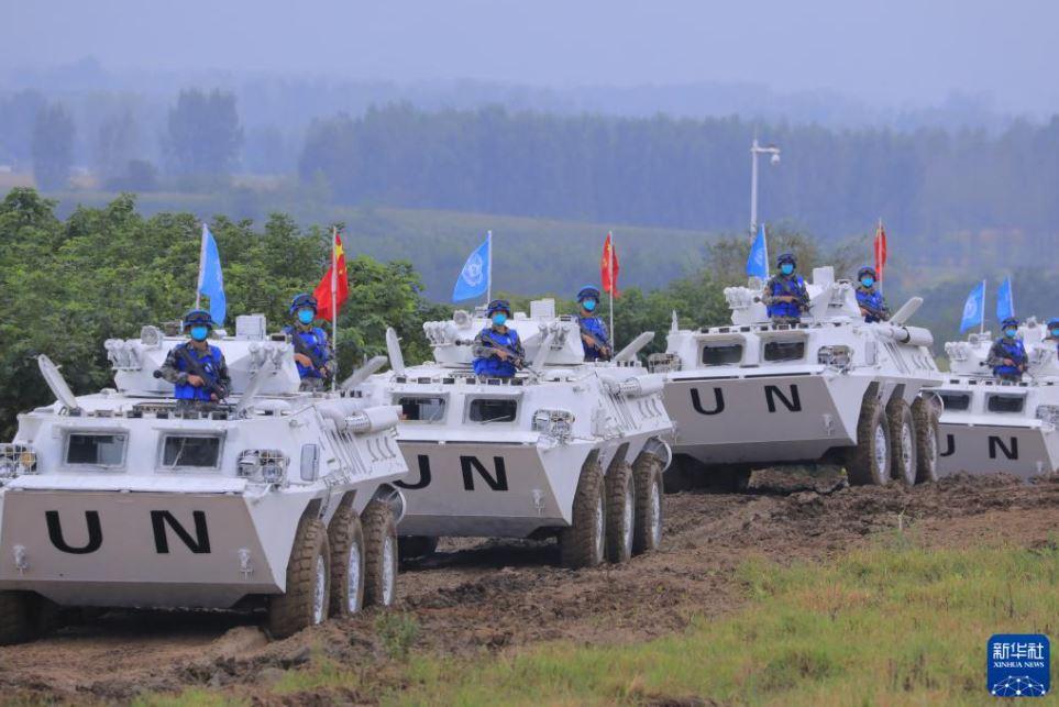 China realiza ejercicio internacional de mantenimiento de la paz