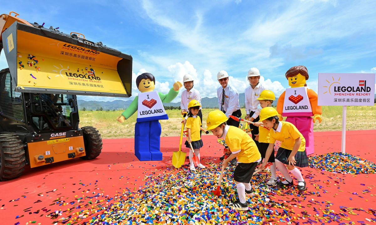 Complejo turístico Legoland Sichuan se prevé que abra en 2023