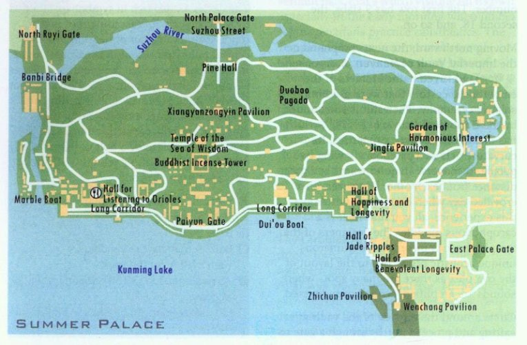 Images and Places  Pictures and Info  summer palace beijing map summer palace beijing map