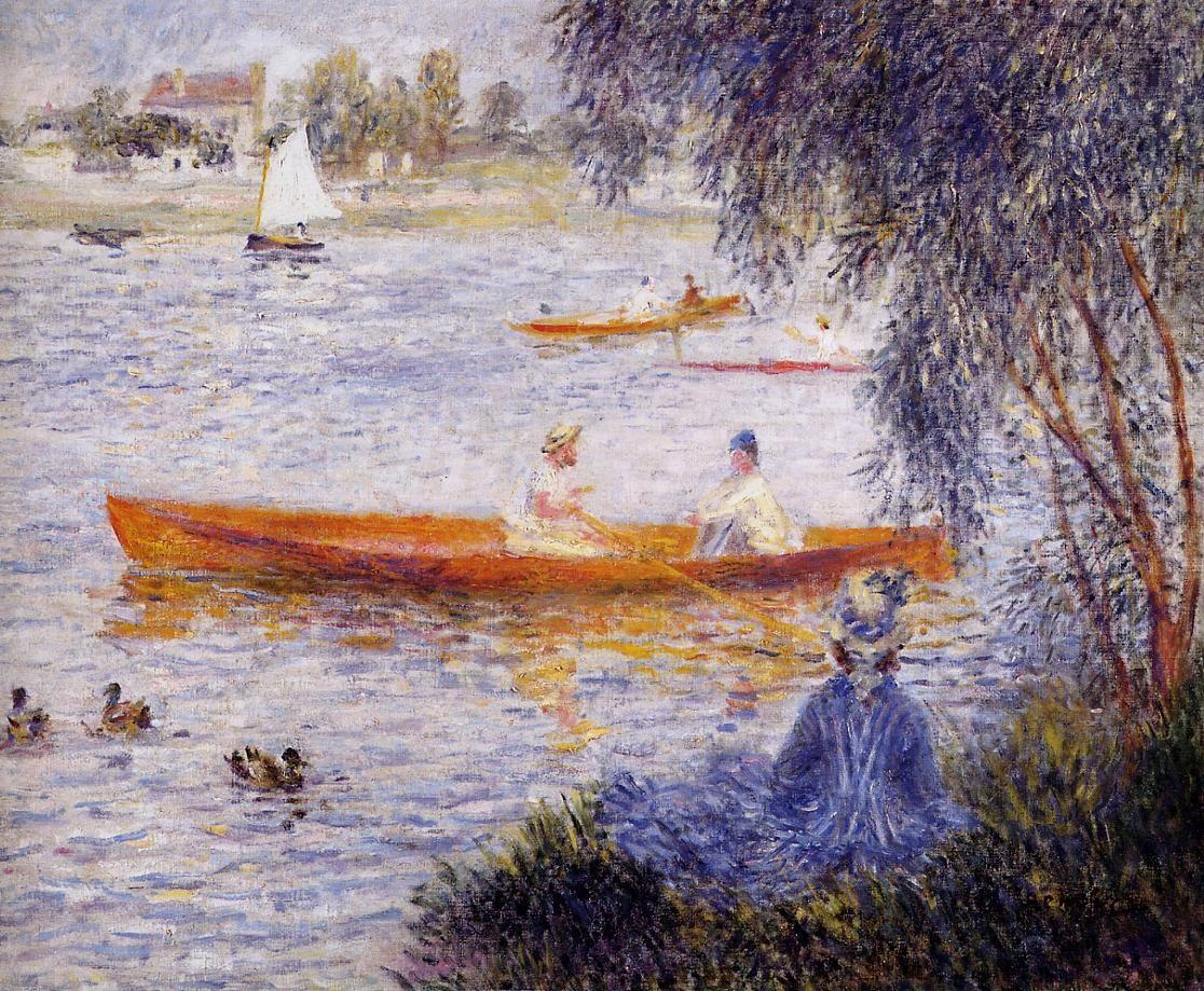 Boating At Argenteuil Renoir Oil Painting Reproduction