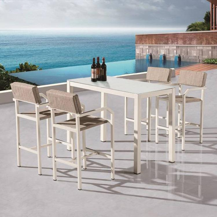 china customized bar style outdoor patio furniture suppliers manufacturers wholesale cheap bar style outdoor patio furniture from factory new perfect line co limited