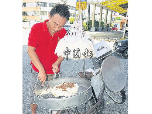 鄭記叮叮糖來賀壽 送上傳統零食讓賓客嚐   中國報 China Press