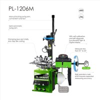 PL-1206M ALL-IN-ONE Tyre Changer & Wheel Balancer
