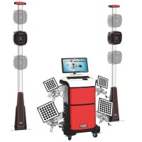 PL-3D-6666U Manual Lift Three Cameras Edition V3D Wheel Alignment Machine