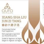 Aura Herbs – Xiang Sha Liu Jun Zi Tang Label