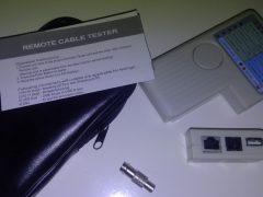 4-in-1 kabel tester zoals geleverd