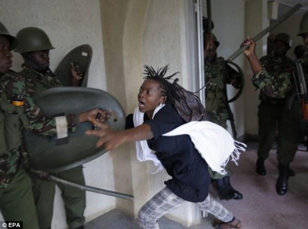 学生被镇压