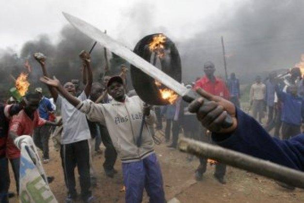 2008.1.肯尼亚反莫伊暴动-致至少100人死亡