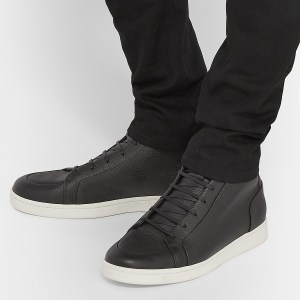 Black High Top Sneakers (2)