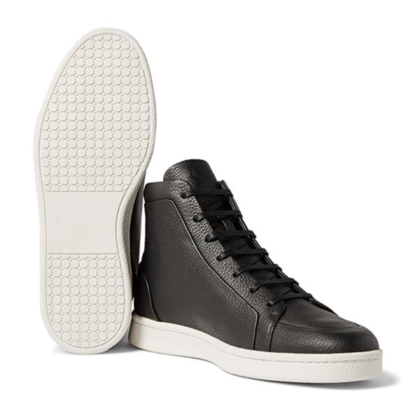 Black High Top Sneakers (4)