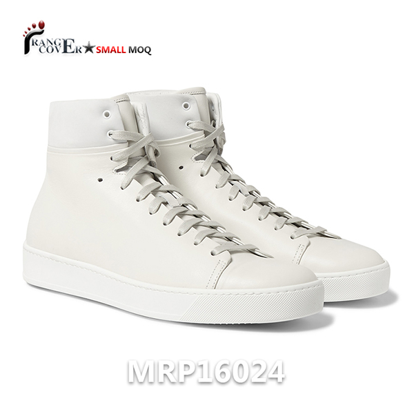Mens White High Top Sneakers