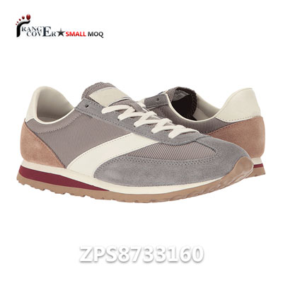017 New Coming Leather And Textile Upper Running Shoes Review