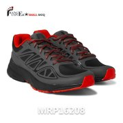 2017 New Design Red Black Men Women Wholesale Custom Sneakers