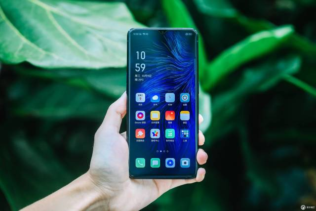 oppo reno ace front