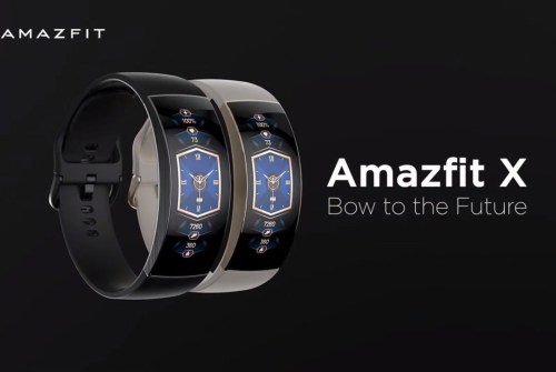 Amazfit X su Indiegogo a partire da 137€ con display super-arc da 92°