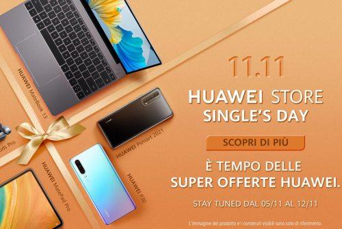 11.11 Huawei store single's day: una settimana di offerte imperdibili!