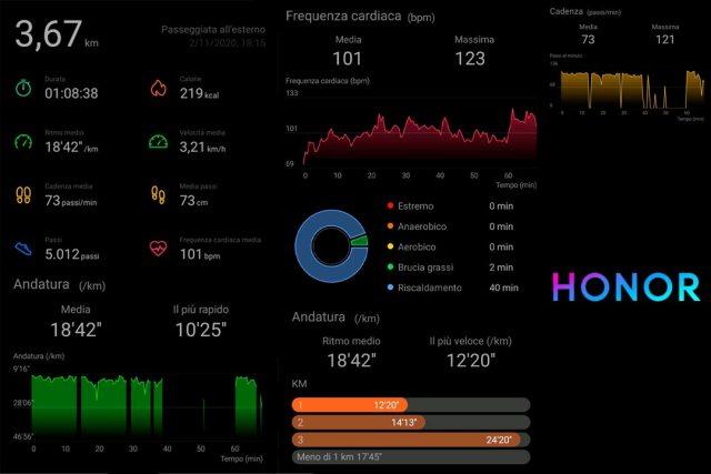 Honor Watch ES Huawei Health