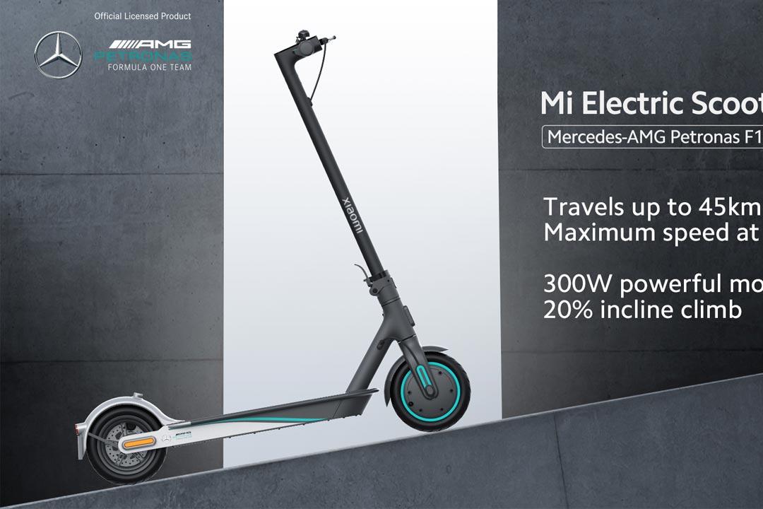 Mi Electric Scooter Pro 2 Mercedes-AMG Petronas F1: sono comunque 25Km/h