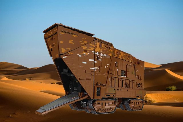mould king sandcrawler