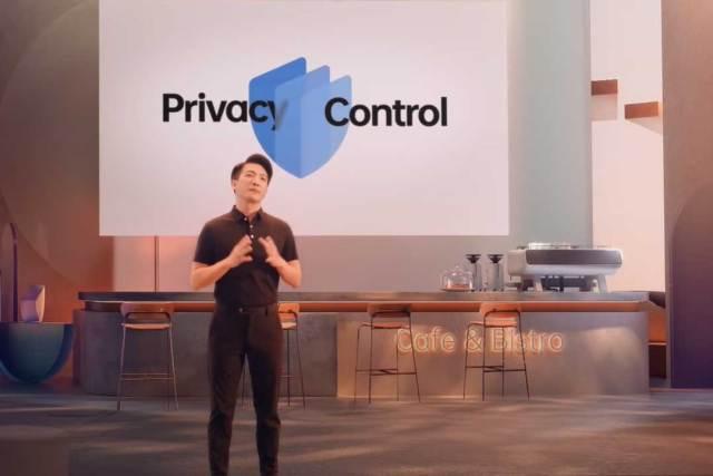 colorOS 12 privacy